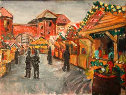 Christmas market at Sendlinger Tor