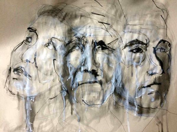 3portraitswhiteink - 1
