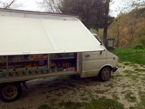 the supermarket truck