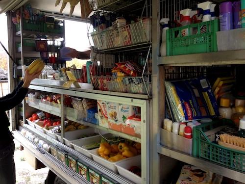 supermarket truck