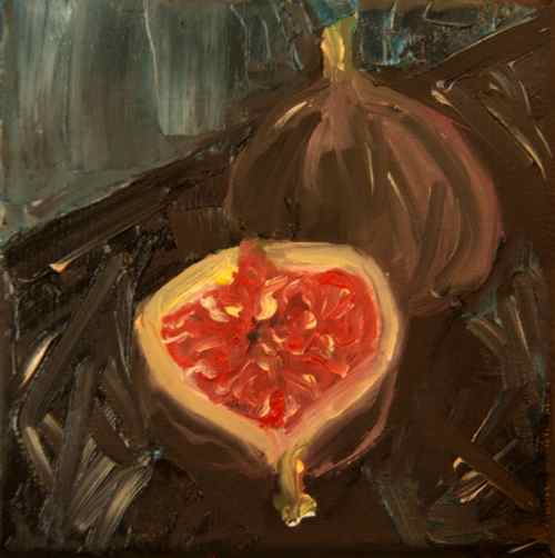figs daily painting original oil