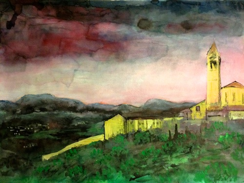 Work in progress - Assisi view