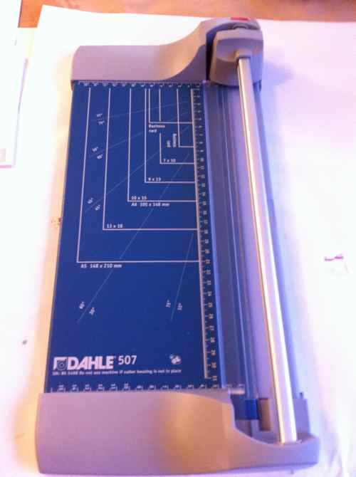 my new paper cutter