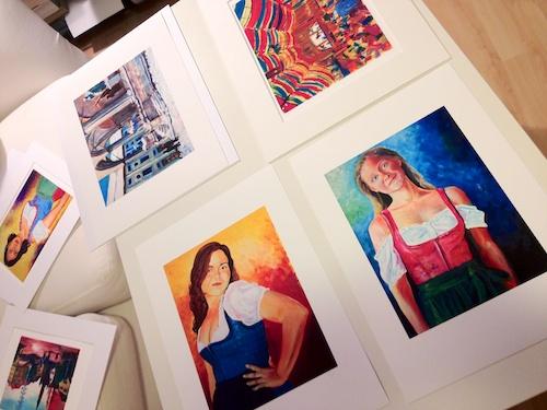 Little Munich Giclee Prints