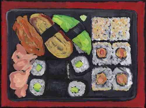 Sushi Painting #3