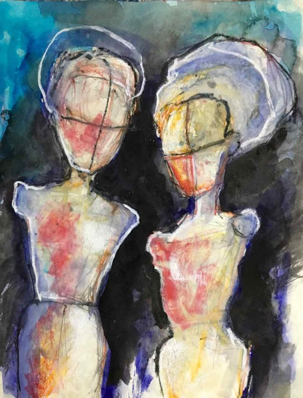 Two Figures, Armless