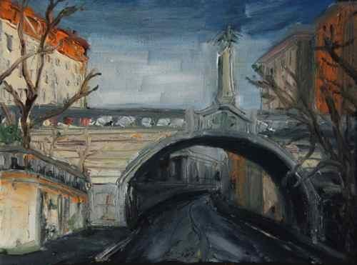 Painting: Gebsattelstrasse Munich