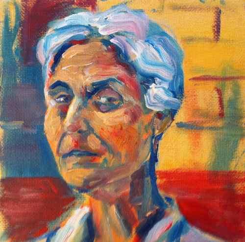 Small portrait - Cliff's mom