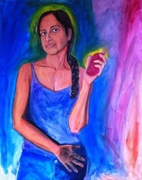 Work in progress: Woman with PSP 3000